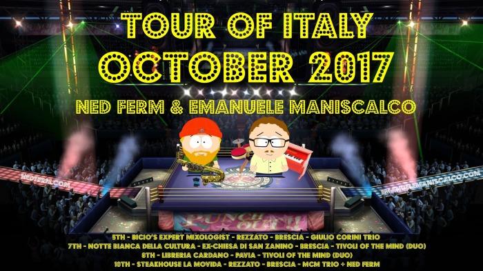 NF:EM Italian Tour 2017